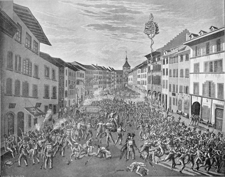 Kampf_Liestal_Oberes_Tor_1831