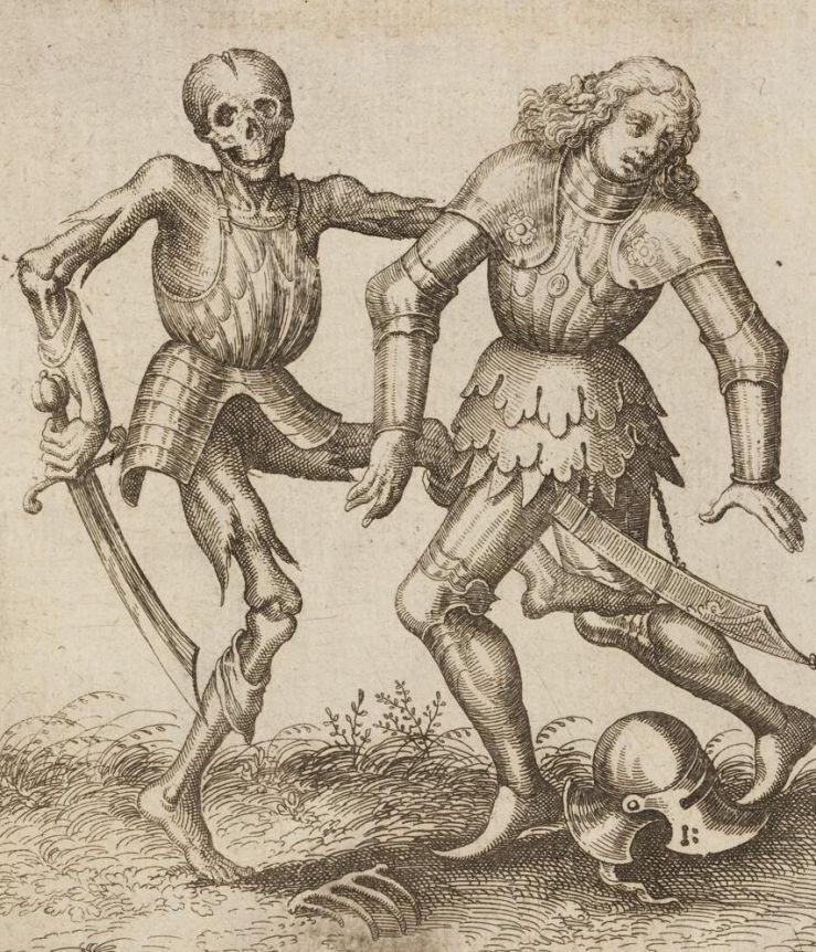 Der Tod und der Ritter