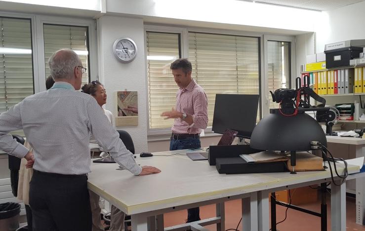 Peter Fornaro, DH-Lab der Universität Basel.