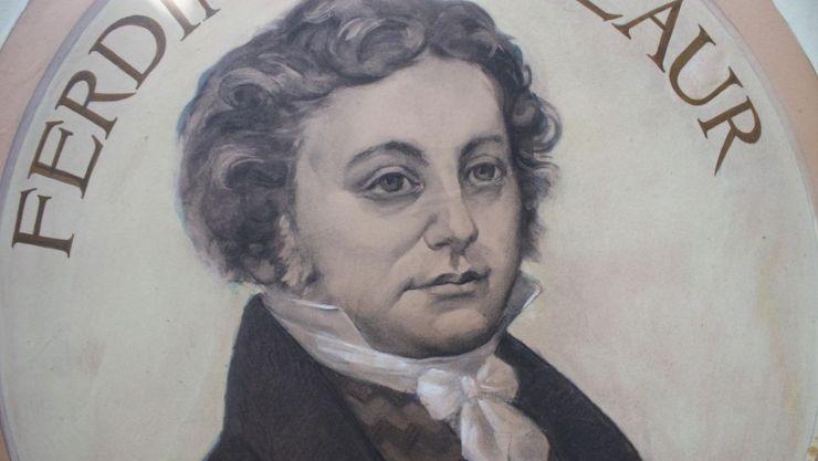 Porträt von Ferdinand Laur