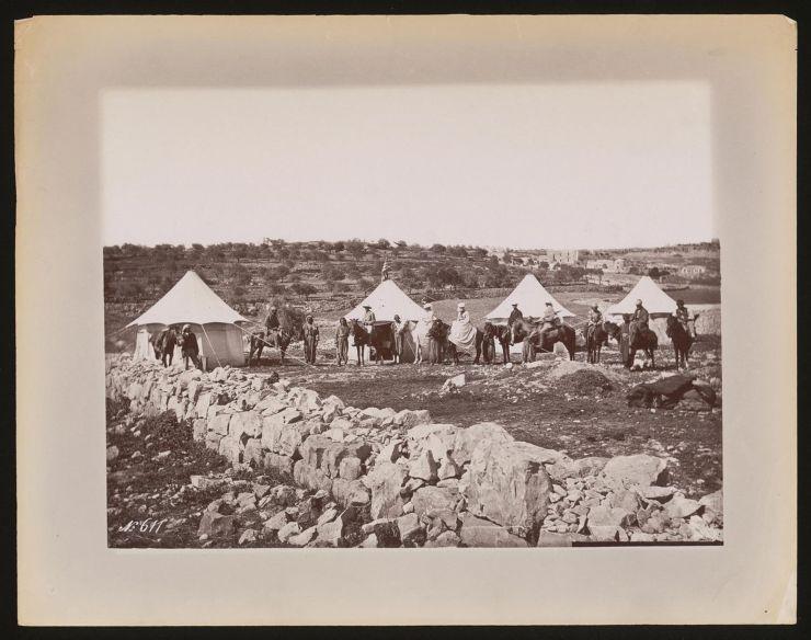 Reisende in Palästina