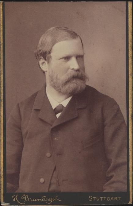 Porträt von Albert Socin