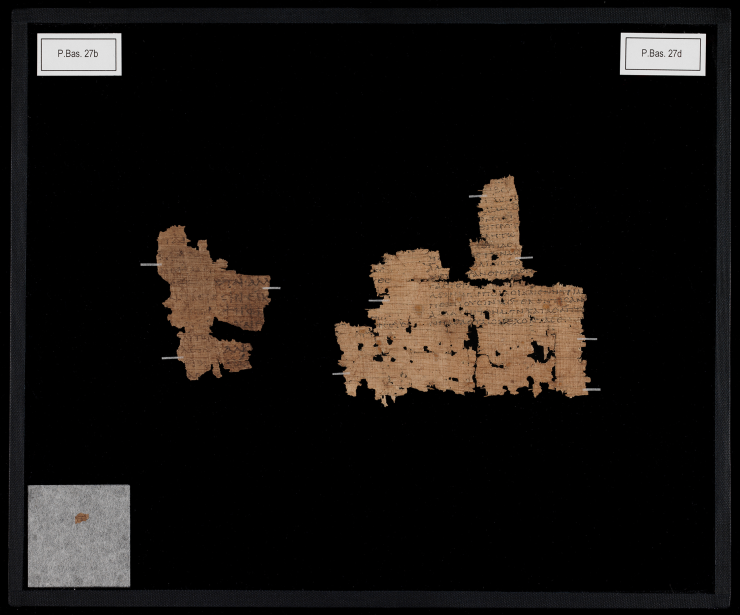 Papyrus-Fragmente